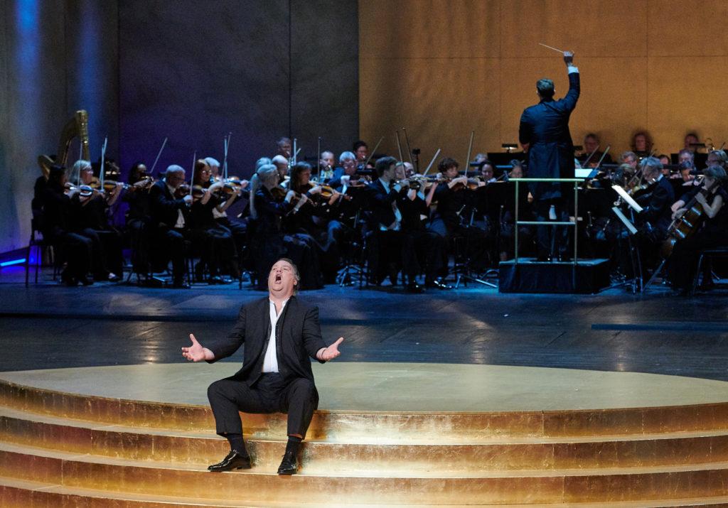 Birgit Nilsson Preis 2018: Auftritt des Sängers Bryn Terfel bei der Gala zur Preisverleihung