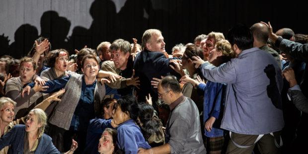 Opern Kritik Semperoper Dresden Moses Und Aron