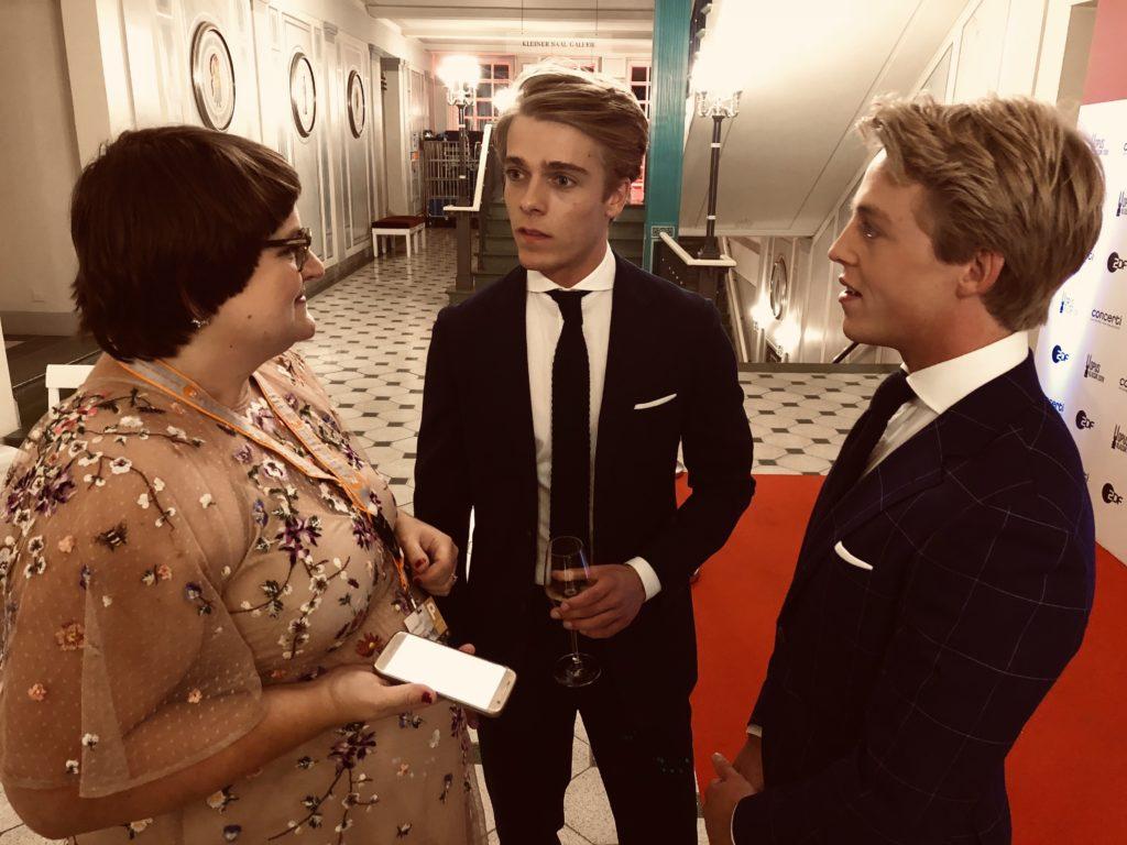 Backstage im Gespräch mit concerti: Lucas und Arthur Jussen
