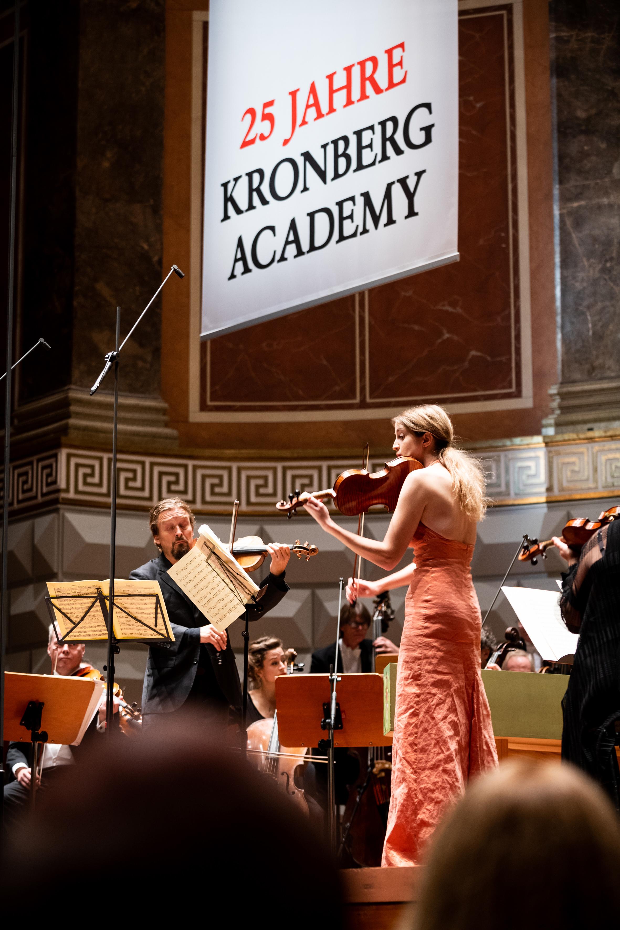 25 Jahre Kronberg Academy, Jubiläumskonzert mit Christian Tetzlaff und Vilde Frang