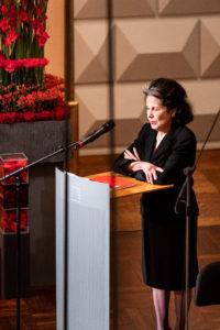25 Jahre Kronberg Academy, Jubiläumskonzert. Grußwort von Marta Casals Istomin