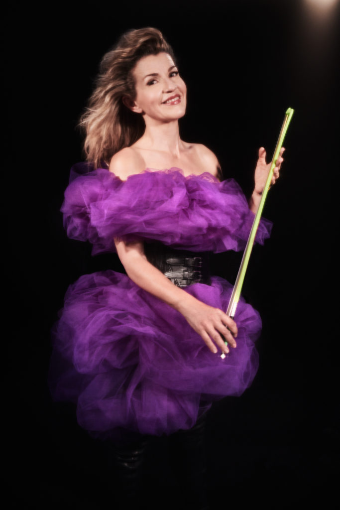 "Anne-Sophie Mutter. Motiv zum Album ""Across the Stars"""