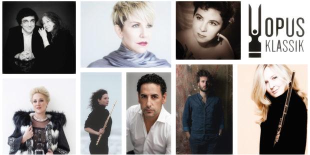 OPUS Klassik, Collage mit Preisträgern