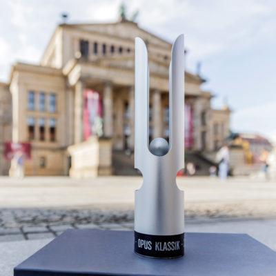OPUS Klassik vor dem Konzerthaus Berlin