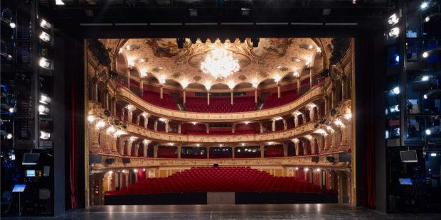 Opernhaus Zürich, Hauptbühne mit Technikportal