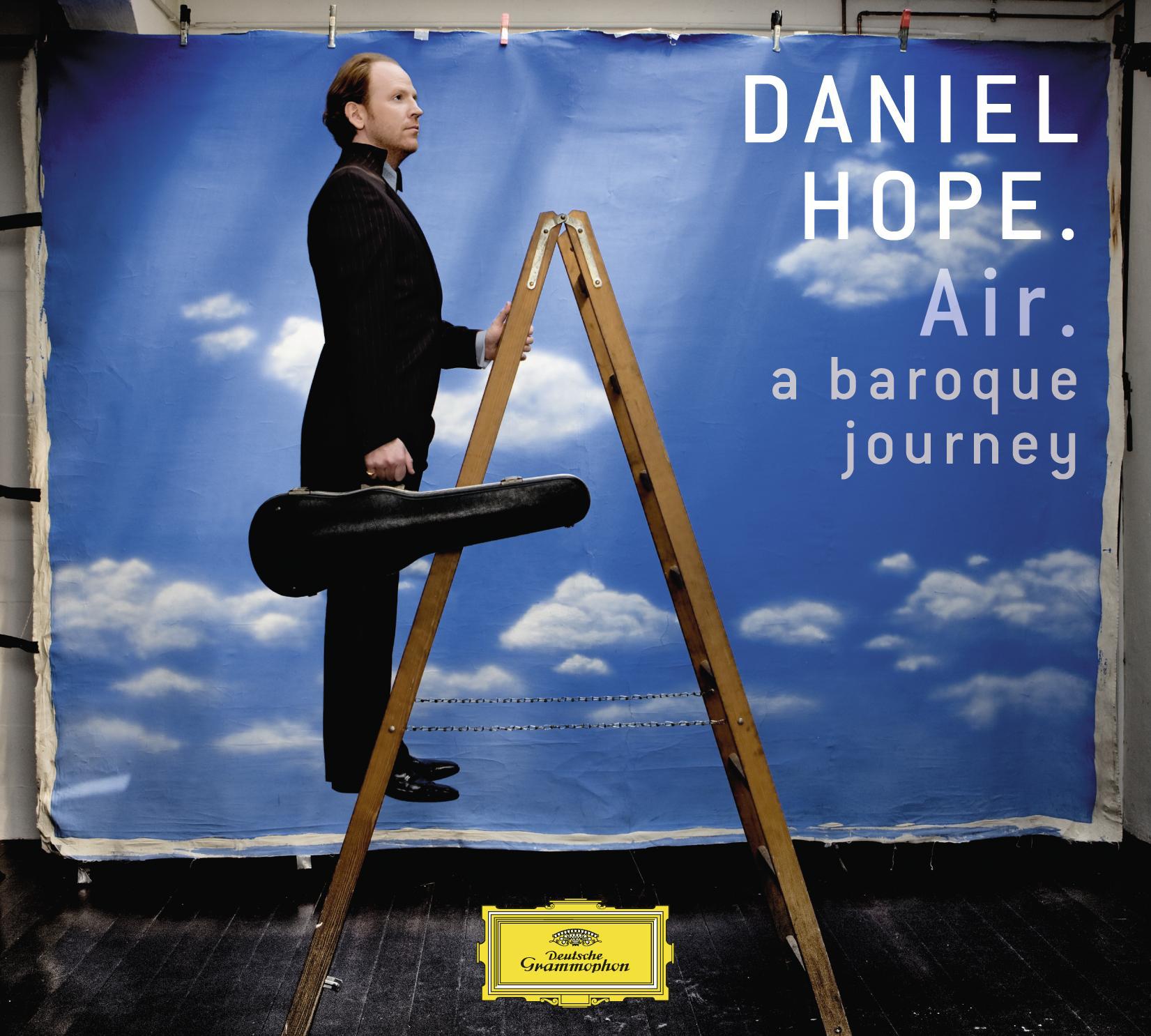 Cover der CD von Daniel Hope