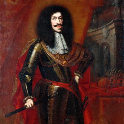 Kaiser Leopold I. Gemälde von Benjamin von Block, 1672