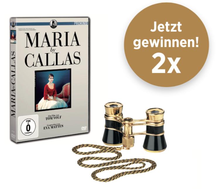 """DVD """"Maria by Callas"""" und Opernglasglamour von Eschenbach"""