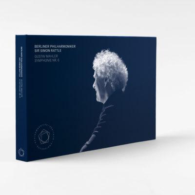 Sir Simon Rattle dirigiert Mahlers Sechste Packshot