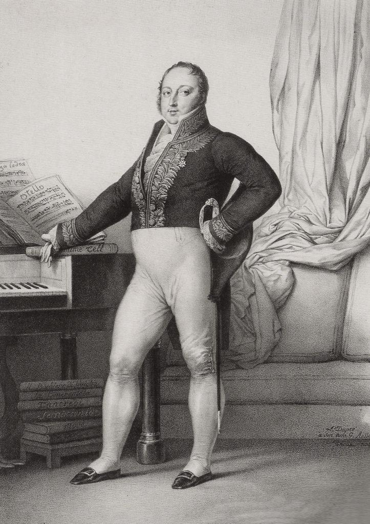 Gioachino Rossini, 1829