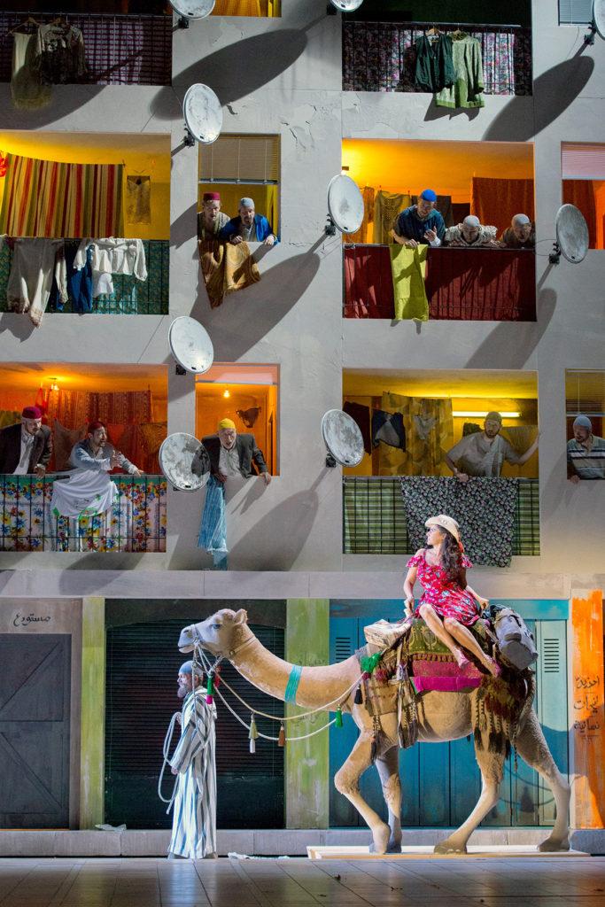 "Szenenbild aus ""Die Italienerin in Algier"""