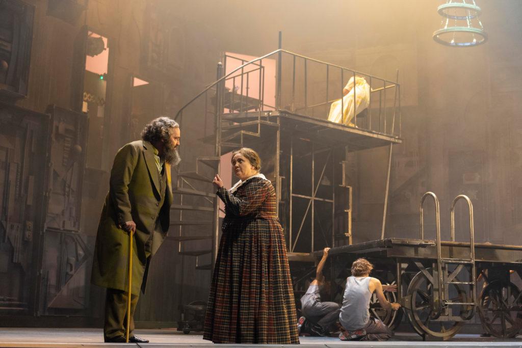 "Szenenbild aus ""Marx in London"""