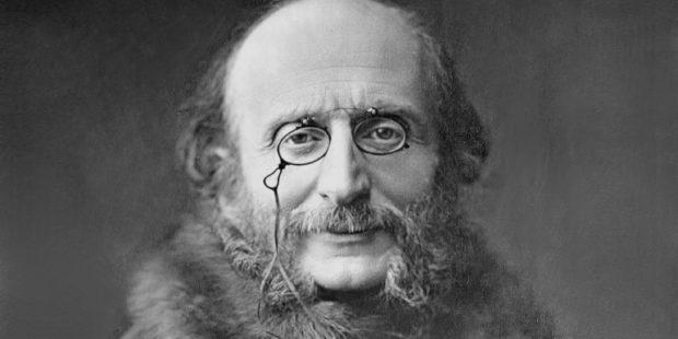 Jacques Offenbach, um 1870