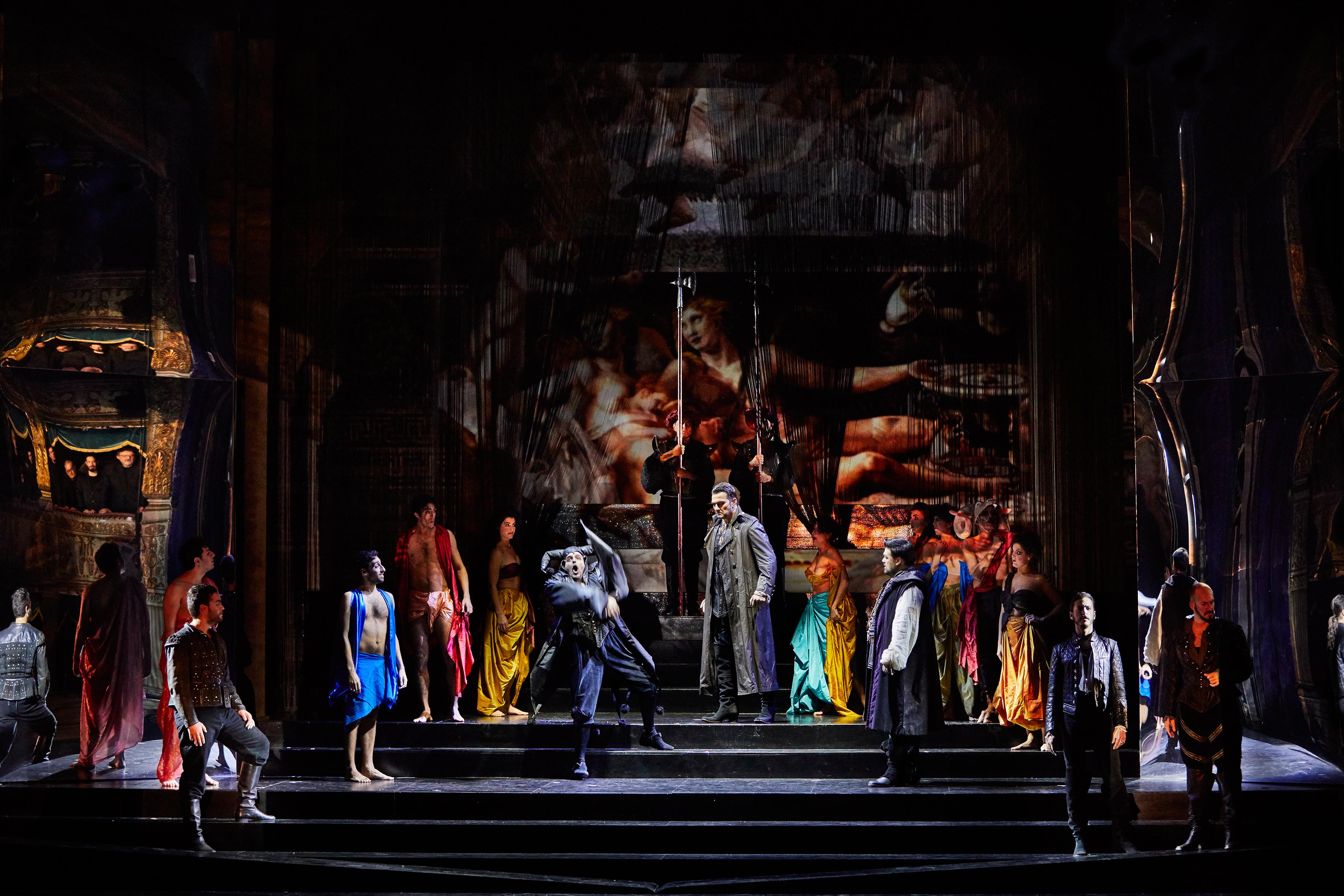 """Szenenbild aus """"Rigoletto"""""""