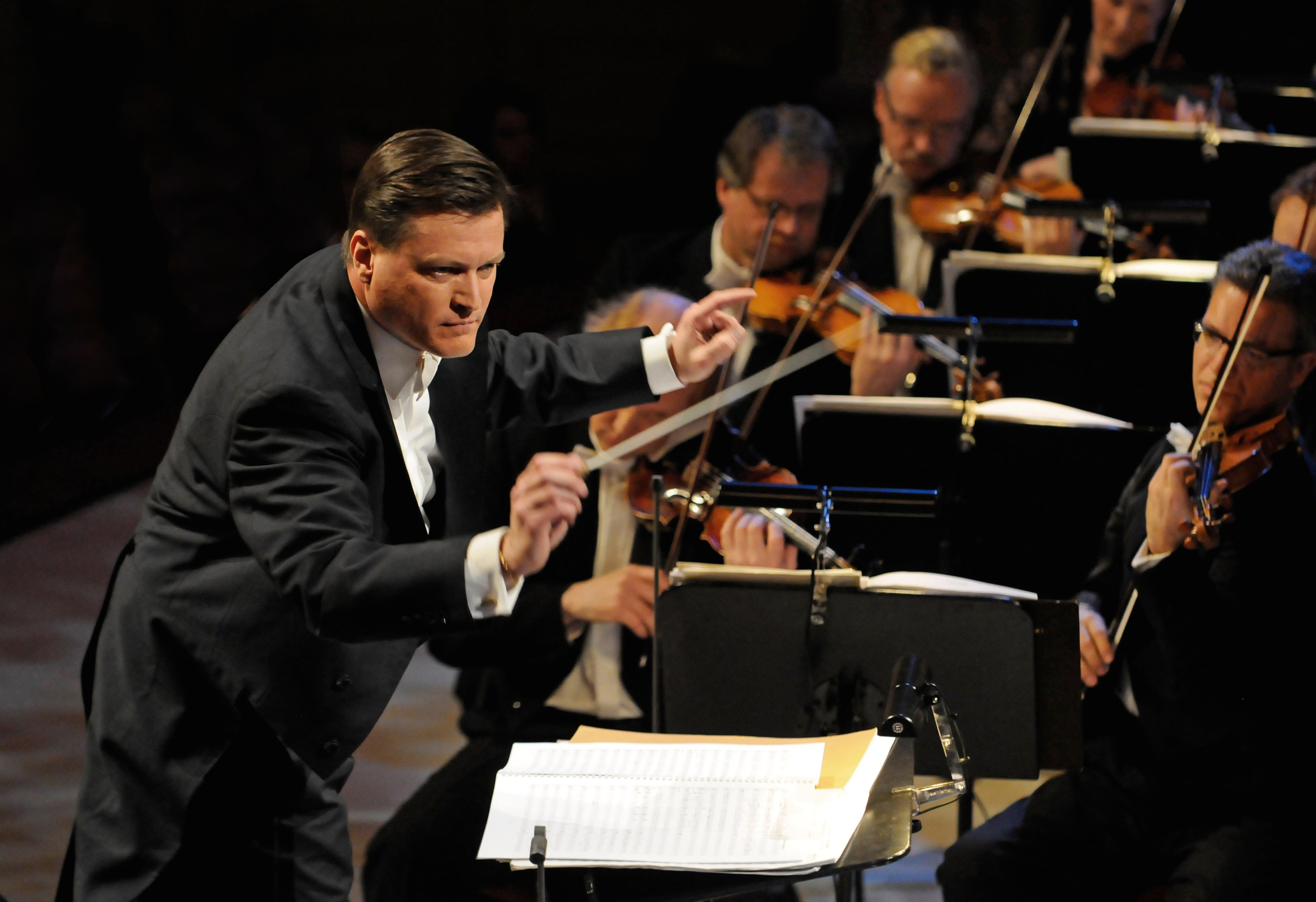 Christian Thielemann dirigiert die Sächsische Staatskapelle Dresden