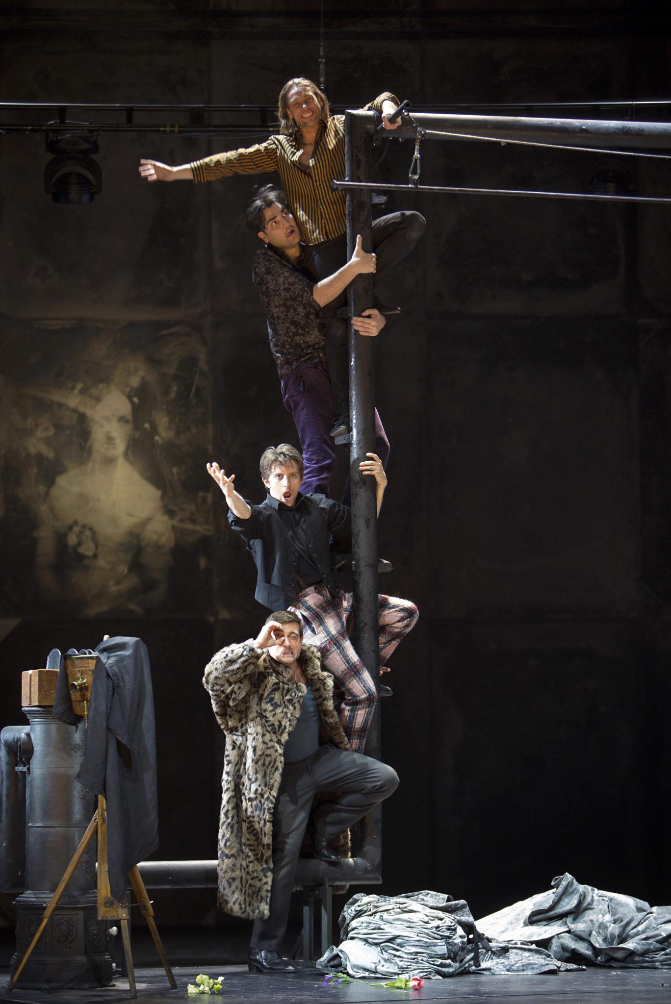 """Szenenbild aus """"La Bohème"""""""