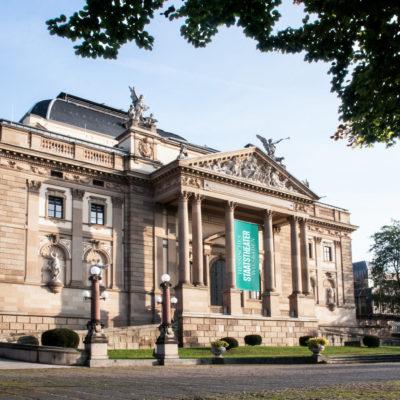 Ansicht Hessisches Staatstheater Wiesbaden