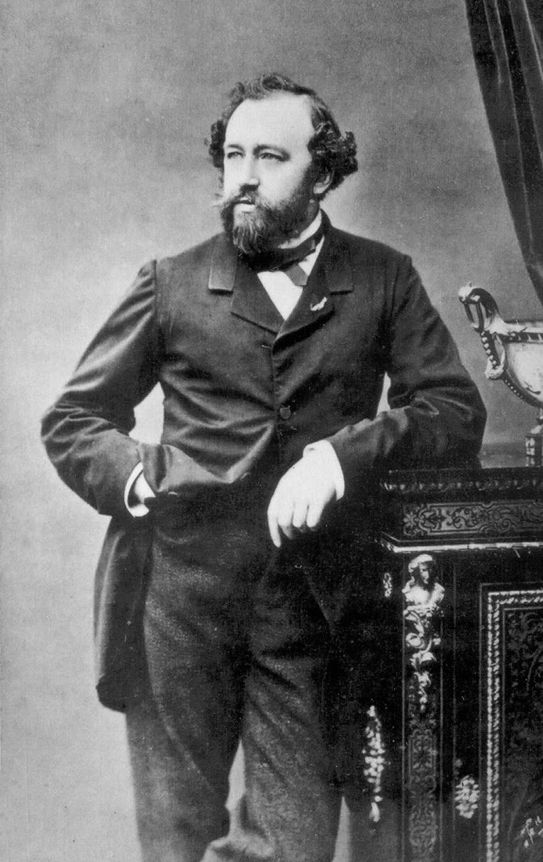 Adolphe Sax, 1850er-Jahre, Fotografie von Ferdinand Mulnier