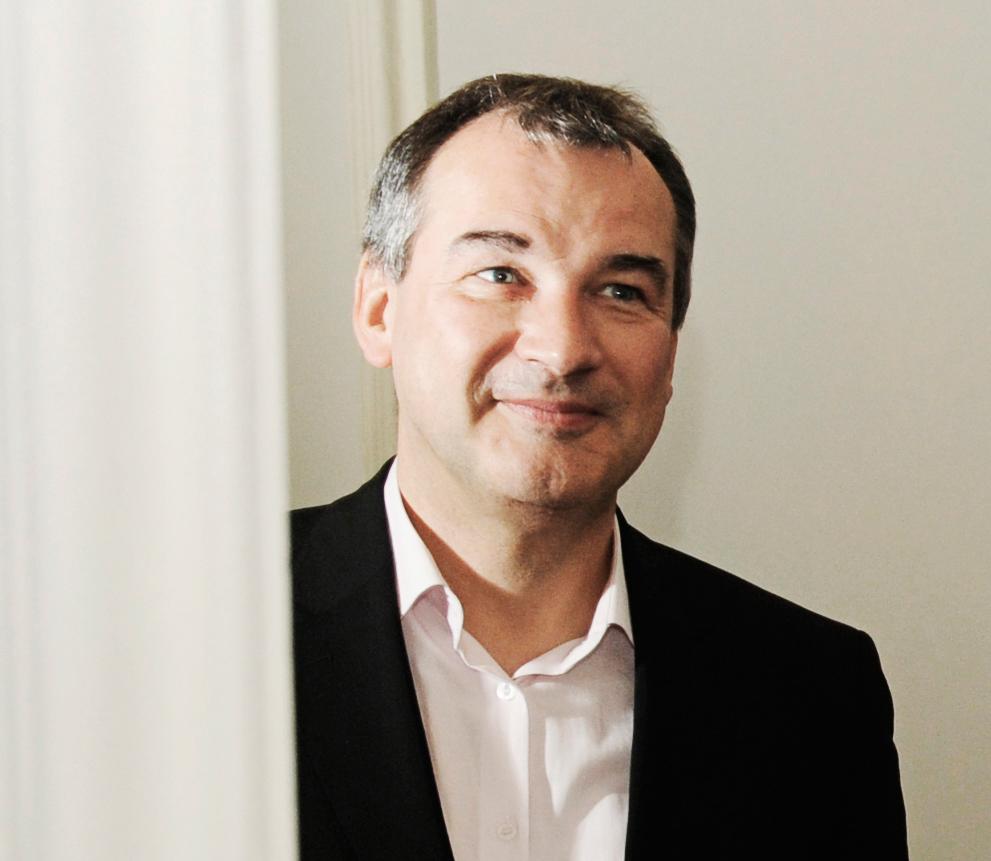 Uwe Eric Laufenberg, Intendant des Hessischen Staatstheaters Wiesbaden