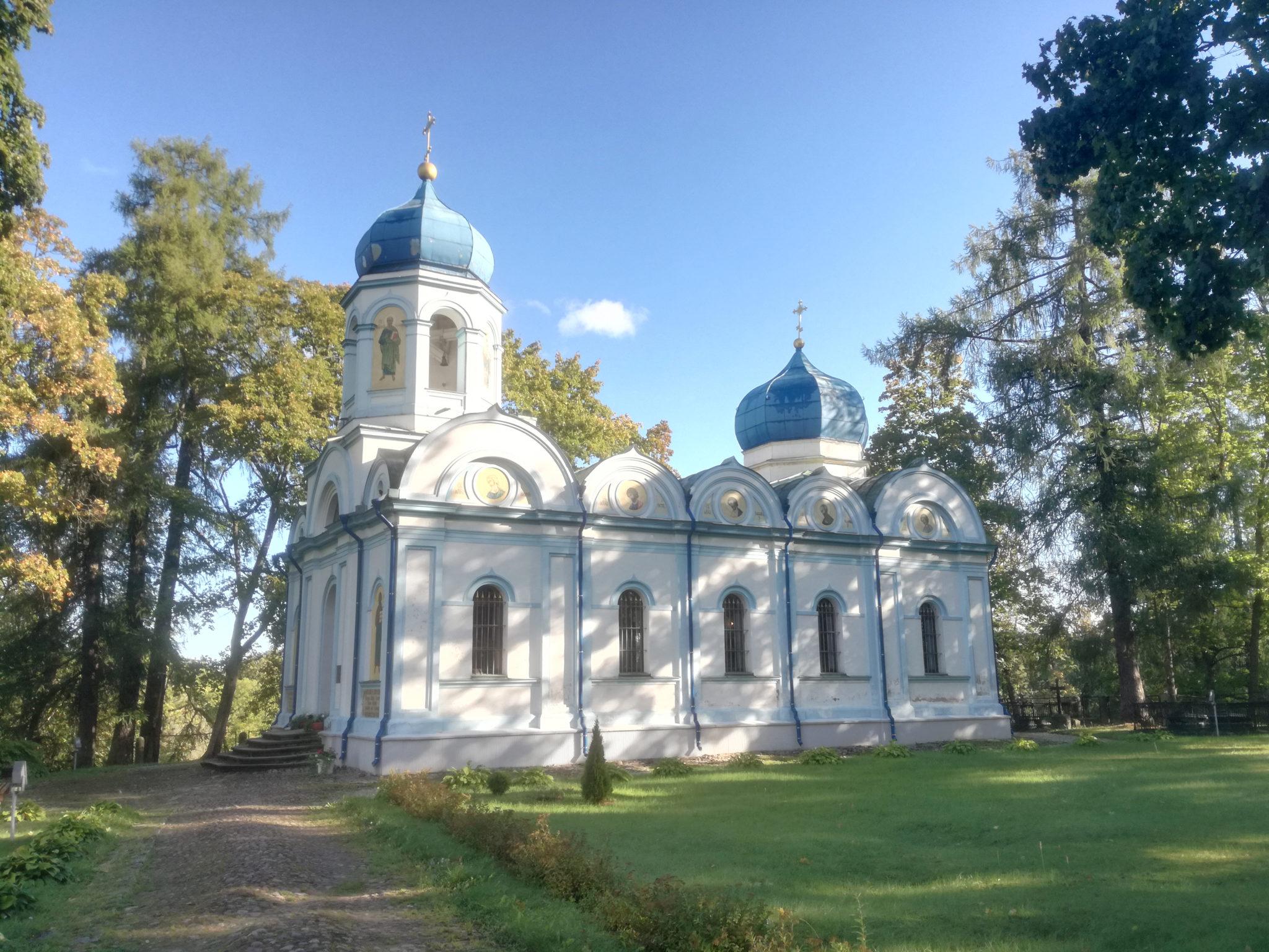 Die orthodoxe Kirche Christi Verklärung in Cēsis