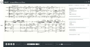 """Digital Mozart Score Viewer (MoVi): Streichquartett KV 458 """"Jagdquartett"""""""