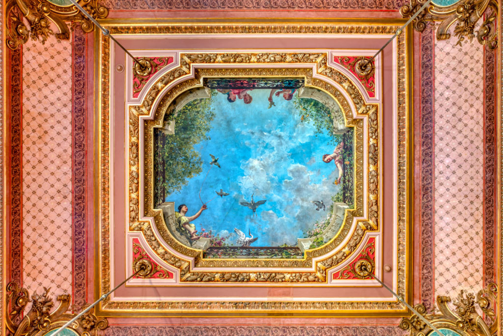 Opernhaus Genf – Grand Theâtre de Genève, Deckenfresko im Foyer