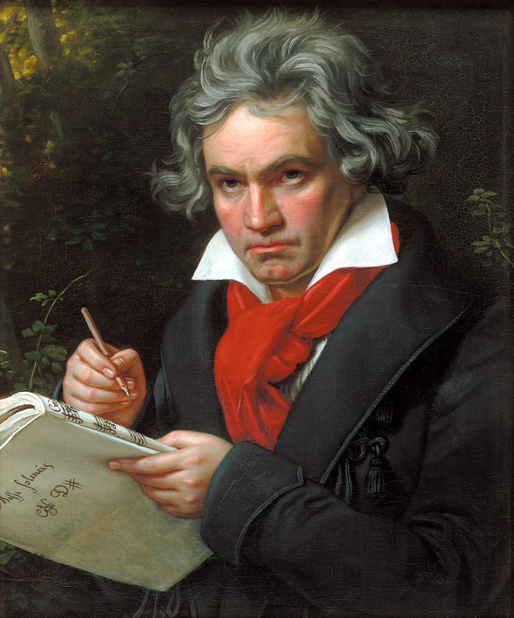 Porträt Ludwig van Beethoven