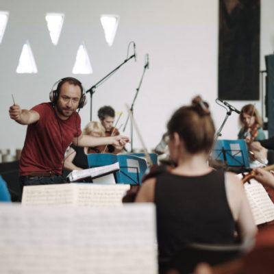 """Probe zu Haydns """"Die sieben letzten Worte unseres Erlösers am Kreuze"""" mit dem Ensemble Resonanz und Riccardo Minasi"""