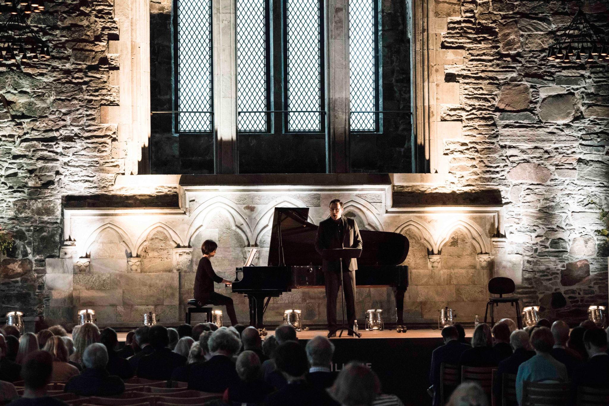Andreas Scholl und Tamar Halperin bei den Internationalen Festspielen Bergen