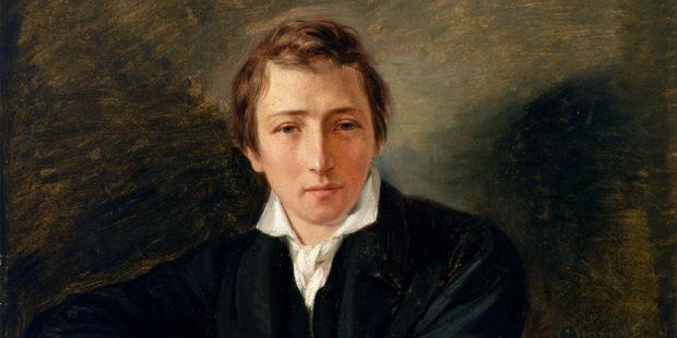 Heinrich Heine gemalt von Moritz Daniel Oppenheim