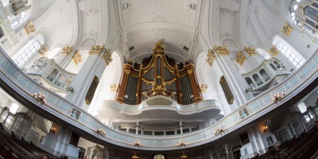 Orgel in der Hauptkirche St. Michaelis