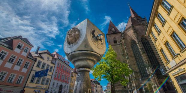 Bach-Denkmal in Ansbach