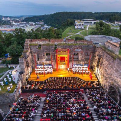 Schloss Hellenstein - Opernfestspiele Heidenheim