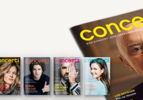 Druckfrisch: die concerti Sommer-Ausgabe!
