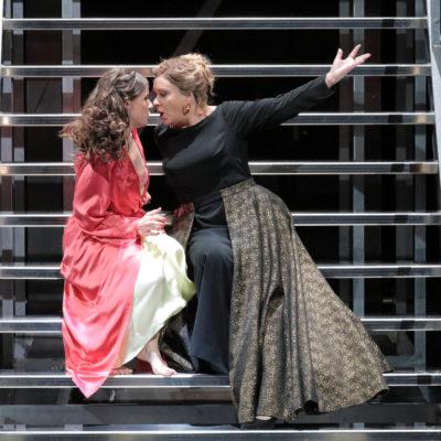 """Szene aus Händels """"Agrippina"""" an der Bayerischen Staatsoper"""