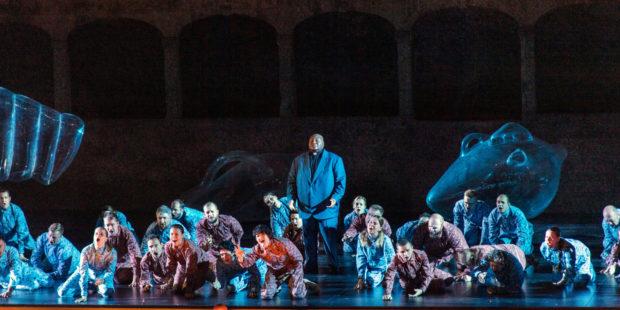 Issachah Savage (Gran Sacerdote), musicAeterna Choir of Perm Opera