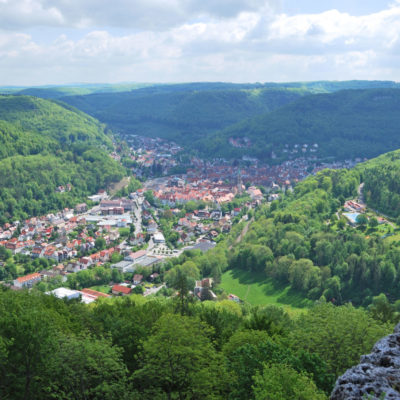 Panorama von Bad Urach