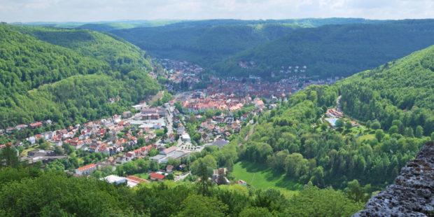 Panorama von Bad Urach