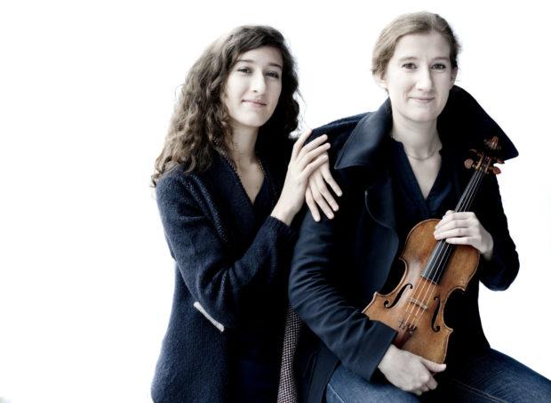 Maria Milstein und Nathalia Milstein