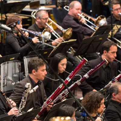 """Das SWR Symphonieorchester bei den """"Donaueschinger Musiktagen""""."""