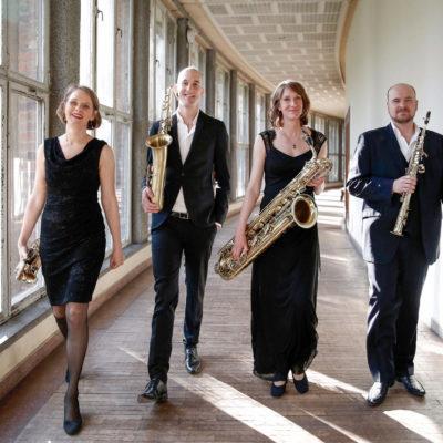 clair-obscur Saxofonquartett