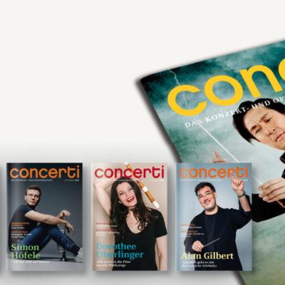 Druckfrisch: die concerti Oktober-Ausgabe!