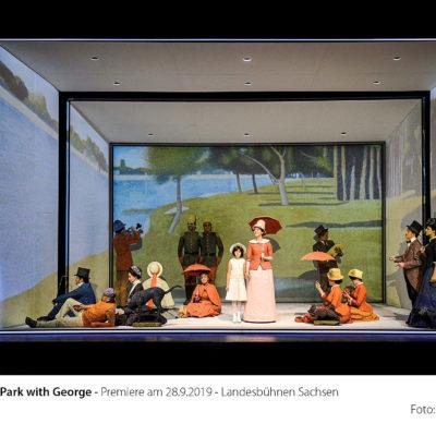 """Stephen Sondheims """"Sunday in the Park with George"""" ist derzeit im sächsischen Radebeul zu erleben"""