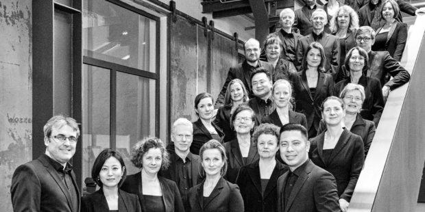 Auftraggeber des neuen Werks: der RIAS Kammerchor