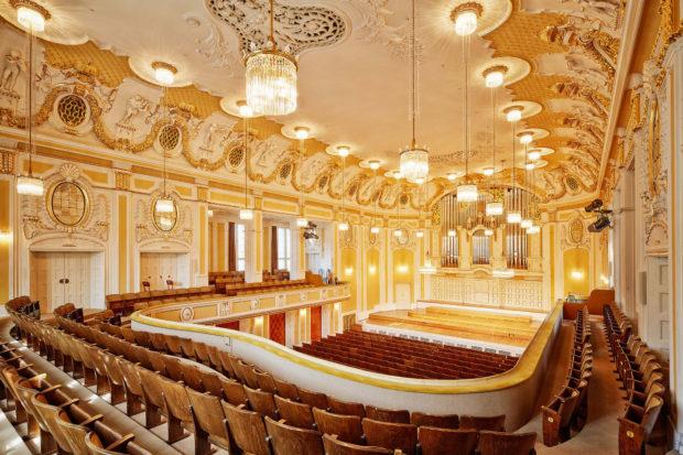 Prachtvoller Spielort des Festivals: der Große Saal des Mozarteums