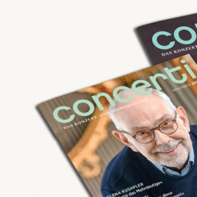 concerti Cover November 2019