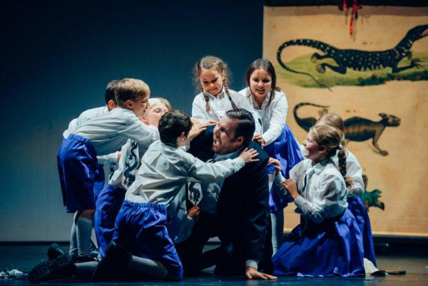 Lanzelot - Oleksandr Pushniak (Drache), Kinder der schola cantorum weimar