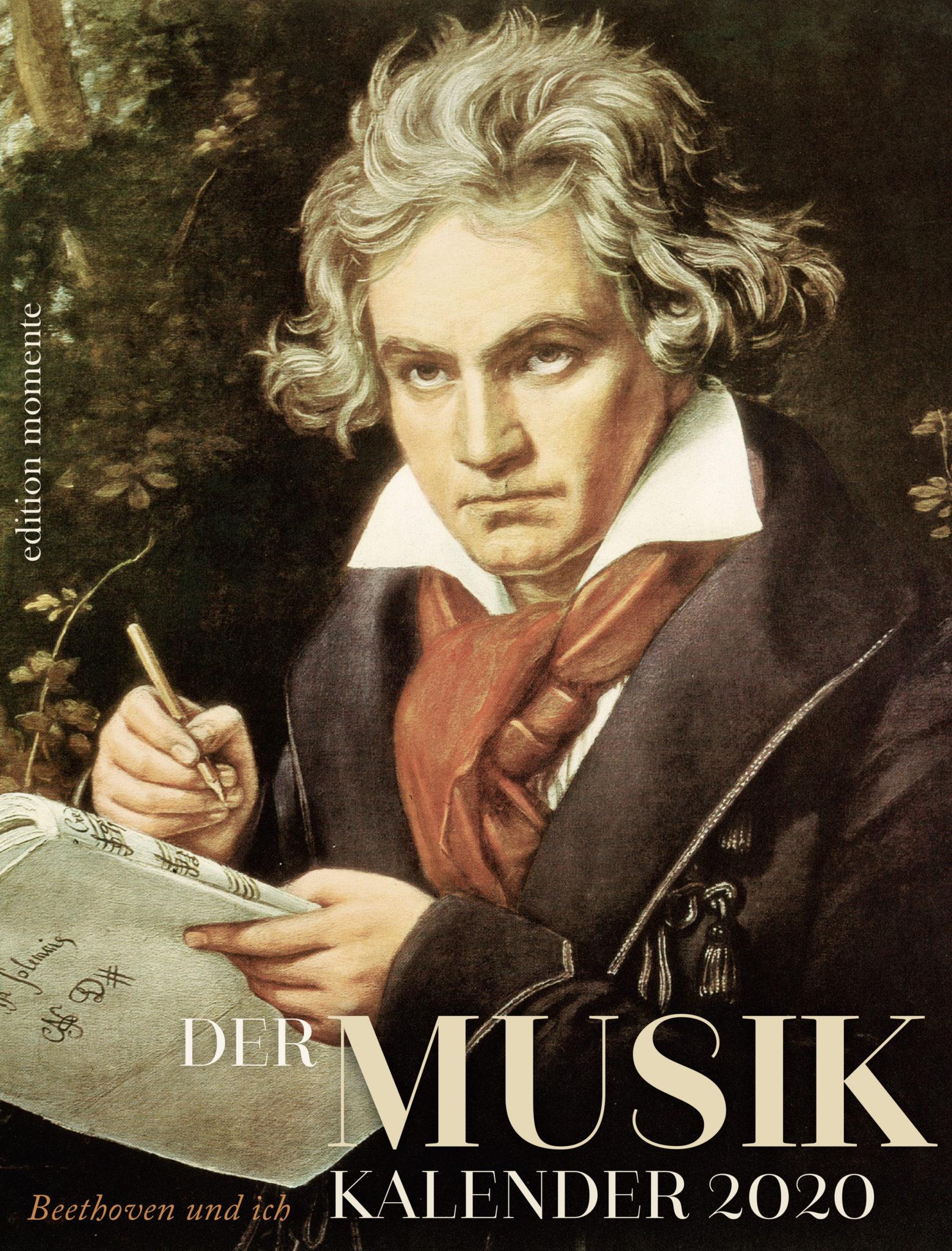 Cover Musik Kalender 2020. Beethoven und ich