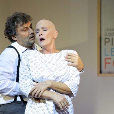 Jonas Kaufmann (Paul), Marlis Petersen (Marietta)