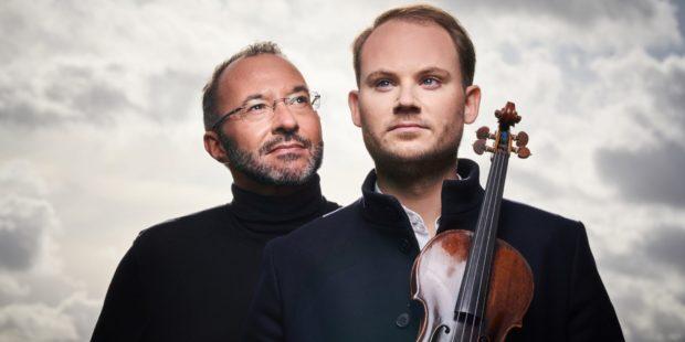 Moderator und Gast der zweiten Podcast-Folge: Holger Wemhoff und Niklas Liepe